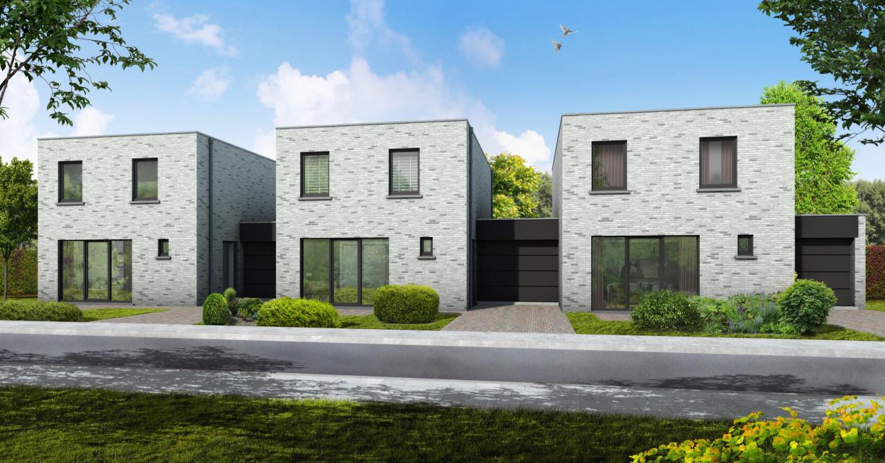 Projectontwikkeling van Brixx bouw met huizen in maaseik